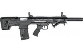 "Panzer Arms BP-12 Gen-2 Semi-Automatic Bullpup Shotgun - Black - 20"" Barrel 12 GA 3"" Chamber - 5rd Magazine - PZRBP12G2BSB"
