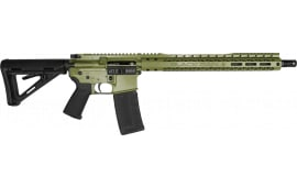 "Black Rain Ordnance Spec-15 Semi-Automatic AR-15 Rifle 16"" Barrel .232/5.56 30rd - Cerakote Green Finish - SPEC15-BZG"