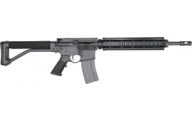 "DoubleStar Semi-Automatic AR-15 Rifle 16"" Barrel .223/5.56NATO 30rd - Includes ARFX Stock - Sniper Grey Finish - BRS103"