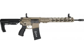 Fostech Phantom Premium Light Weight 5.56 AR15 Rifle with AR II Echo Trigger Installed - Flat Dark Earth Finish