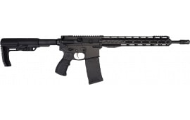 "Fostech Phantom Sport - Premium Light Weight 5.56 AR15 Rifle with Echo Sport Trigger Installed - 13"" Mach II Rails - Graphite Black Finish - Minor Cosmetic Blem"