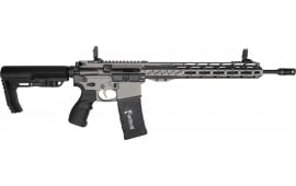 "Fostech Phantom Semi-Automatic AR-15 Rifle 16"" Barrel .223/5.56 30rd - Echo AR-II Trigger Installed - Tungsten Cerakote Finish - Factory Blem - 4158"