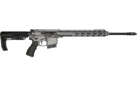 "Fostech Stealth Series Lightning Semi-Automatic AR-15 Rifle 20"" Barrel .223 WYLDE 30rd - Tungsten Cerakote Finish - 10001-TUNG-223"
