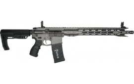 Fostech Eagle Light Weight  AR-15 Semi-Automatic Rifle .223/5.56 30rd - AR II Echo Trigger Installed - Tungsten Finish -4162-TUN