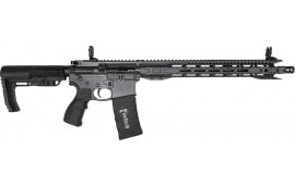 "Fostech 6309-SG Eagle Premium Light Weight .223/5.56 AR-15 Rifle w/ Single-Stage Trigger, 16.5"" Heavy Barrel, 16"" Mach 1 Lightweight Rails - Sniper Grey"