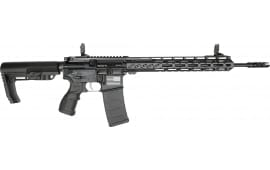 "Fostech Stryker Tech-15 Semi-Automatic AR-15 Rifle 16"" Barrel .223/5.56 30rd - Echo AR-II Trigger Installed - Black - 8151BLK"