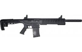 "Garaysar Fear-116 AR-12 Style Semi-Automatic Shotgun 12GA 3"" 5rd Detachable Magazine 20"" Barrel - Black Finish - FEAR-116BUND"