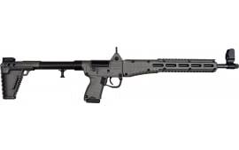 Kel-Tec SUB-2000 Glock 19 15 Rd -Black/Tungsten Grey -SUB2K9GLK19BTNG