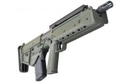 Kel-Tec Rifle Downward Ejecting Bullpup, 5.56 NATO Caliber, Green on Black Semi-Auto