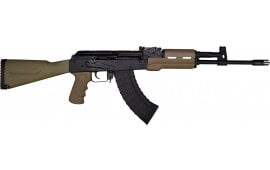 M+M Industries MMI-M10-762T AK47 Rifle, 7.62x39, Hogue Furn, FDE