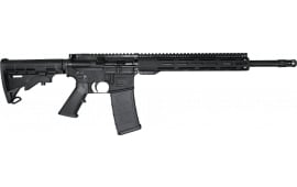 "Radical Firearms FR16-5.56SOC-12FCR FR16 Semi-Auto Rifle, 5.56 NATO, 16"" SOCOM Barrel, 12"" M-LOK Rail - Black"