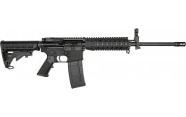 "RGuns RGQ Semi-Automatic AR-15 Rifle 16"" Heavy Barrel .223/5.56NATO 30rd - Includes YHM Front Flip-up Sight & Quad Rail"