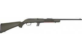 """Savage 40010 64 FXP with Scope Semi-Auto 22 LR 21"""" 10+1 Synthetic OD Green Stock Blued"""