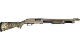 """Winchester SXP Defender Pump-Action Shotgun 12GA 3"""" 5rd 18"""" Barrel - True Timber Strata Camo W/ FDE Permacote  - 512411395"""