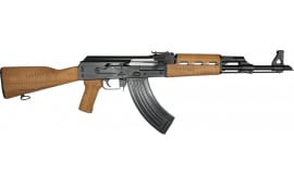 "Zastava Arms ZPAP M70 AK-47 Rifle 7.62x39 30rd - New 16.3"" Chrome-Lined Barrel, 1.5mm Receiver, and Bulged Trunnion - Light Maple Furniture - ZR7762LM"