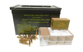 PMP 5.56x45mm 55gr M193 Ball AM2427 - 200rd Battle Pack