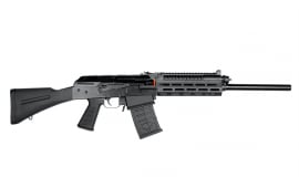 JTS M12AK-T1 AK-Style Shotgun w/ Optic Rail Remchoke Compatible (2) 5rd Magazines - Black