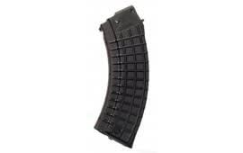 Magazine, 7.62x39 (AK-47), 30rd, Circle ((10)), Waffle Pattern, Black Reinforced Polymer, Arsenal Bg - M-47W