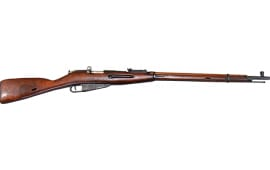Russian M91/30 Mosin Nagant Rifle w/ Hex Receiver Tula, Dragoon Era - Arsenal Refinished, G / VG -