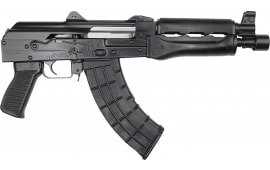 Zastava Arms ZPAP92 Semi-Automatic AK-47 Pistol 7.62x39 30rd - 1.5mm Receiver, Bulged Trunnion, Chrome-Lined Barrel - ZP92762M
