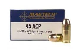 MagTech .45 ACP 230 GR Ammunition - 50rd box