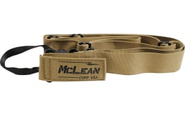 McLean Corp Dynamic Retention Single Point / Two Point Conversion Sling Coyote Tan