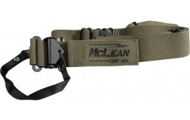 McLean Corp Dynamic Retention Single Point / Two Point Conversion Sling OD Green
