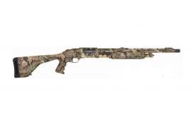 "Mossberg 535 12 GA Shotgun, 20"" Turkey PG Stock Camo Scope Base - 45233"