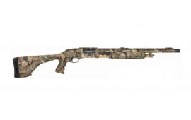 "Mossberg 535 12GA Shotgun, 20"" Turkey PG Stock Camo Scope Base - 45233"