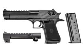 "Magnum Research Desert Eagle 50AE Pistol, 6"" Black Oxide - DE44W"