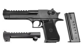 "Magnum Research Desert Eagle 50AE Pistol, 6"" Black Oxide - DE44W"