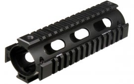 UTG PRO Model 4 / AR15 Carbine Length Drop-in Quad Rail, Black MTU001