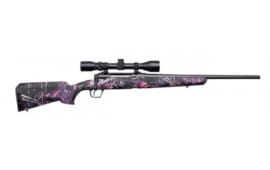 "Savage Arms 57272 Axis XP Youth .243 20"" 3-9x40 MATTE/MUDDY Girl Ergo"