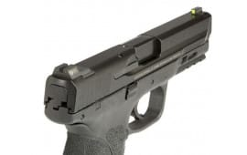 Night Fision SAW201003YGZ Night Sight Set Square S&W M&P/SD9 VE/SD40 VE Green Tritium w/Yellow Outline Black