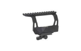 AIM Sports AK QD Side Optics Mount, Black - MKQSM