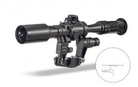 Wolf Performance Optics WPA PO 6x36-1 Scope Black - WPAPO6X36