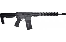 "Fostech Phantom Premium Light Weight 5.56 AR15 Rifle with AR II Echo Trigger Installed - 13"" Mach II Rails - Sniper Grey Finish"