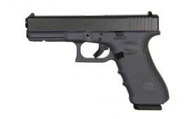 Refurbished Glock 17 Gen 4 9mm Semi-Auto Handgun w/ (3) 17 Rd Mags and F/S GLPR17501-RF