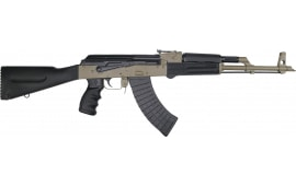 Pioneer Arms AK-47 Semi-Auto Rifle W / Original Polish Barrel and Receiver - 7.62x39 Caliber, W / 30 Round Mag -  By J.R.A. - Cerakote F.D.E.