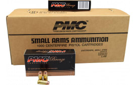 PMC 40E Bronze 40 Smith & Wesson 180  GR Full Metal Jacket Flat Point - 1000rd Case