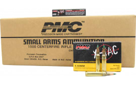 PMC 556K X-Tac 5.56 NATO LAP M855 Ammunition 62GR -Green Tipped 1000rd case