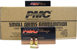 PMC 380A Bronze 1000 Rd Case - .380 Automatic Colt Pistol, Full Metal Jacket, 90 GR, Brass, Boxer, N/C, Re-loadable - 1000 Rounds