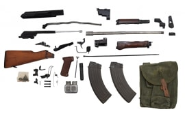 Polish AK-47 Parts Kit w/ New U.S. Made 7.62x39 Barrel - No FFL Required