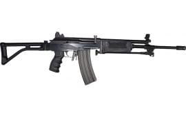 "JRA Gallant Rifle 5.56 NATO, Semi-Auto, 18"" Barrel w/ Compensator and Bipod, No Bayonet Lug, Black Polymer Furniture - With Standard Shooters Pkg"