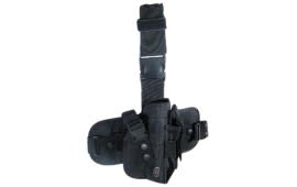 UTG Special Ops Universal Tactical Leg Holster, Black - Right Hand PVC-H178B