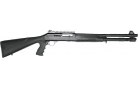 "Panzer Arms M4 Tactical Semi-Automatic Shotgun 18.5"" Barrel 12GA 3"" 5rd - Piston Driven - Black"