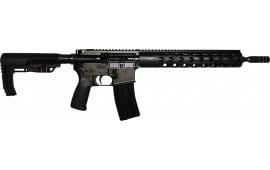 """Radical Firearms 5.56 NATO 14.5"""" Flat Top AR15 - FR14556AA-12FGR-ZS"""