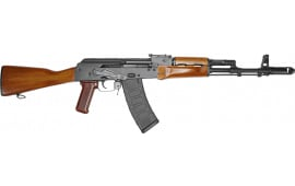 "Riley Defense AK-74 Semi-Automatic Rifle 16"" Barrel 5.45x39 30rd - Fixed Stock W/ Teak Wood Furniture - RAK74-C"