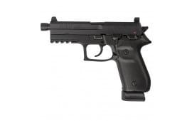 """Arex REXZERO1T-01 Rex Zero Tactical DA/SA 9mm Luger 4.9"""" 20+1 (2) 20rd Mags Threaded Barrel"""