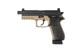 "Rex Zero 1T 9mm, FDE w/ 4.9"" Threaded Barrel, 2- 20rd Mags, Case - REXZERO1T-03"